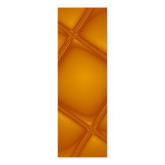 Bubbling Amber Bookmark Mini Business Card