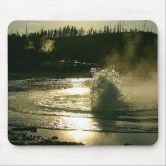 Bubbling hot spring mouse pad