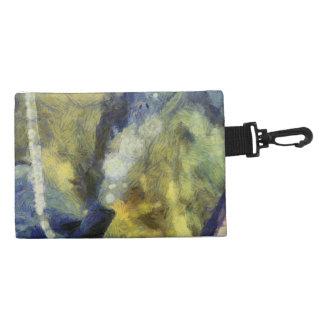 Bubbling of air inside an aquarium accessories bags