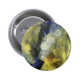 Bubbling of air inside an aquarium 2 inch round button