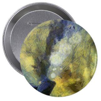 Bubbling of air inside an aquarium 4 inch round button