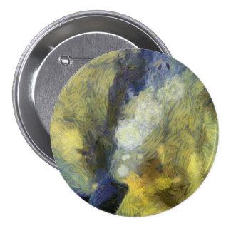 Bubbling of air inside an aquarium 3 inch round button