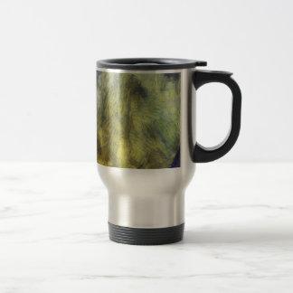 Bubbling of air inside an aquarium 15 oz stainless steel travel mug
