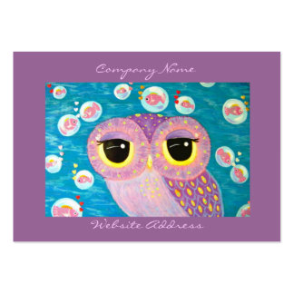Bubbling With Love Large Business Card