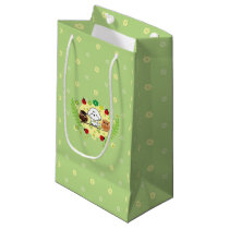 Bubbly and owls-enjoy spring small gift bag