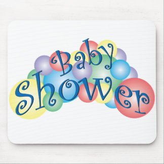 Bubbly Baby Shower Mouse Pad