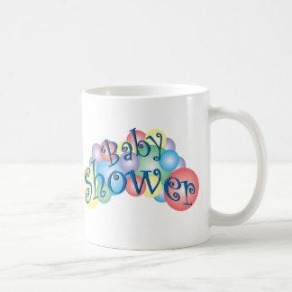 Bubbly Baby Shower Classic White Coffee Mug