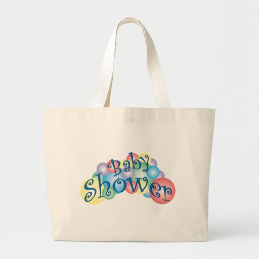 bubbly baby shower tote bag zazzle