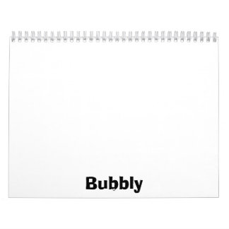 Bubbly Calendar