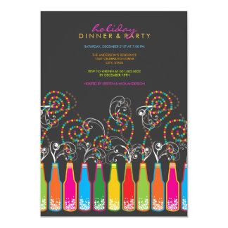Bubbly Celebrations! Holiday Party Invitation