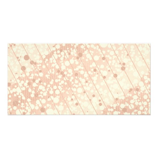 Bubbly Cream and Beige Card