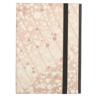 Bubbly Cream and Beige Cover For iPad Air