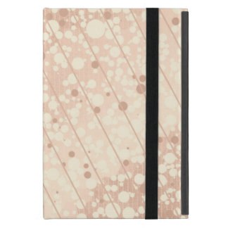 Bubbly Cream and Beige Cover For iPad Mini