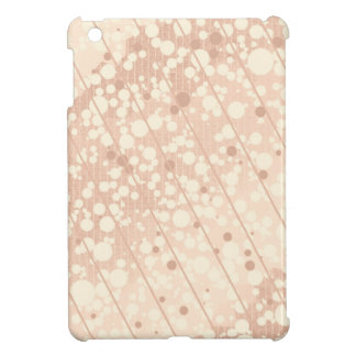 Bubbly Cream and Beige iPad Mini Covers