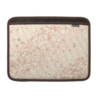 Bubbly Cream and Beige MacBook Sleeve
