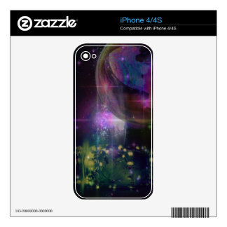 bubbly, firefly, galaxy, night iPhone 4S decals