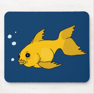 Bubbly Goldfish Mouse Pad