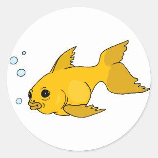 Bubbly Goldfish Stickers