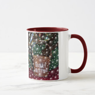 Bubbly Merry Christmas mug