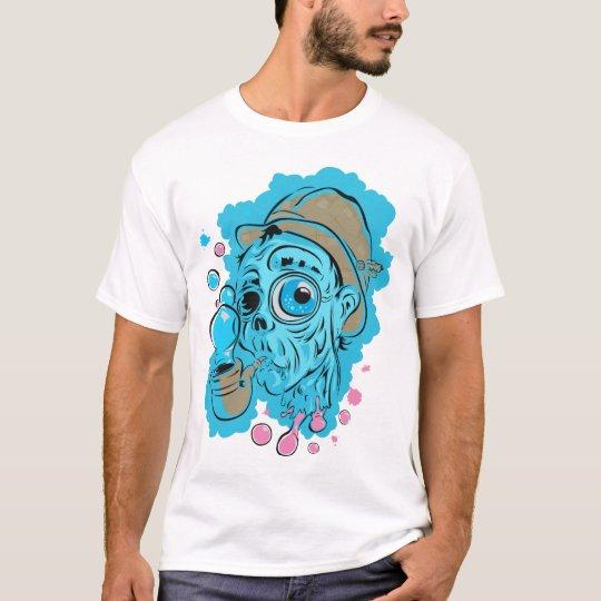 Bubbly Mess Blue Fog T-Shirt