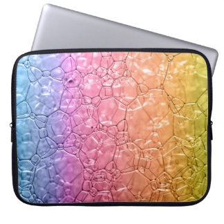 Bubbly Neoprene Laptop Sleeve - Water resistant
