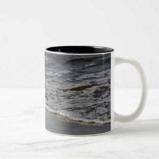 Bubbly Oregon Surf Two-Tone Coffee Mug