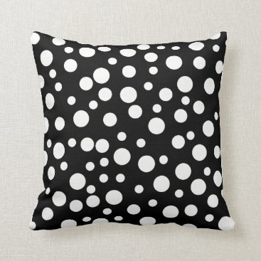 Beach Themed BUBBLY POLKA DOT SQUARE BEACH PILLOW
