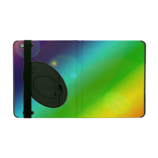 Bubbly Rainbow iPad Cover