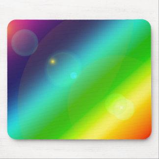 Bubbly Rainbow Mouse Pad