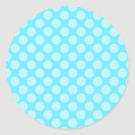 Bubbly Tranquil Electrifying Champion Classic Round Sticker