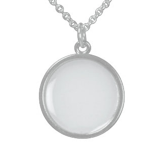 Bubbly White-Champagne White Uptown Girl Designer Sterling Silver Necklace