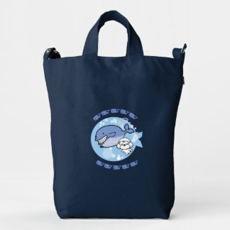 Bubbly's swimming with whale duck bag