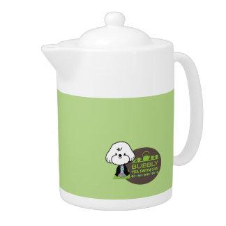 bubbly's tea party teapot
