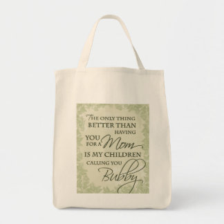 Bubby Tote Grocery Tote Bag