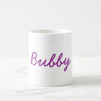 """Bubby"" Yiddish grandma coffee mug"