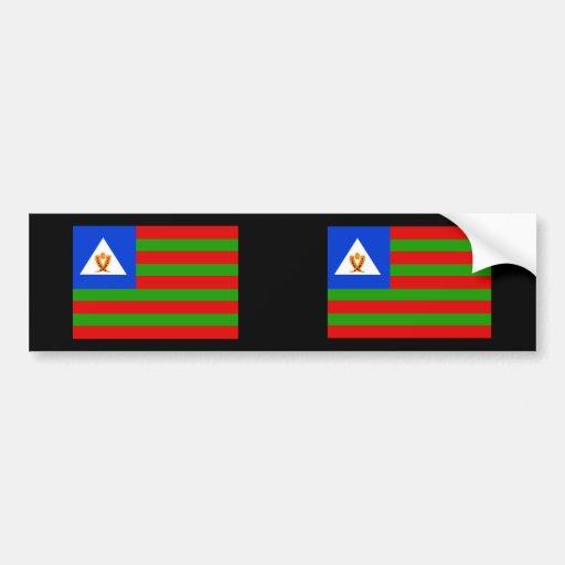 Bubi tribal, Equatorial Guinea Bumper Sticker
