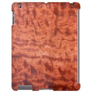 bubinga (faux) Wood Grain Finish iPad Case