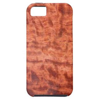 bubinga (faux) Wood Grain Finish iPhone 5 Covers