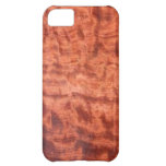 bubinga (faux) Wood Grain Finish iPhone 5C Cases