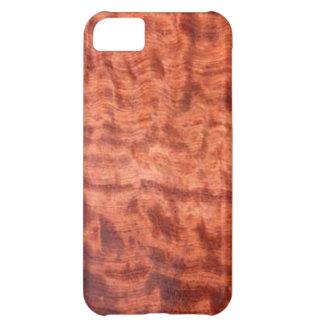 bubinga (faux) Wood Grain Finish iPhone 5C Covers