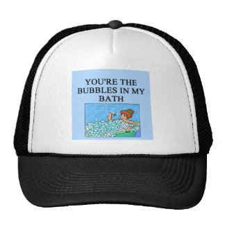 buble bath lovers hat