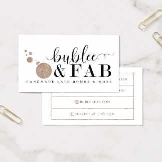 BubLee Fab Business Cards