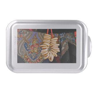 Bubliki y mantones ucranianos molde para pasteles