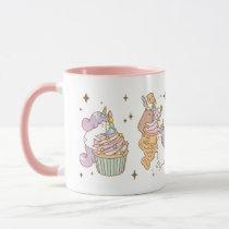 Bubu the Guinea pig, Unicorn Party Mug