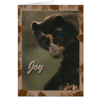 Bubu wishes Joy to all! Greeting Card