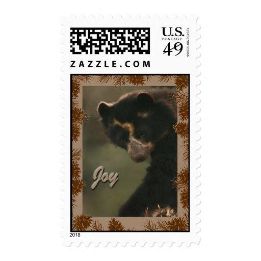 Bubu wishes Joy to All Stamp