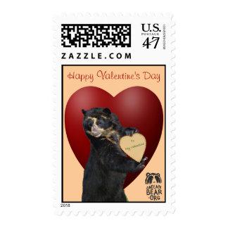 Bubu's Valentine's Day Stamp