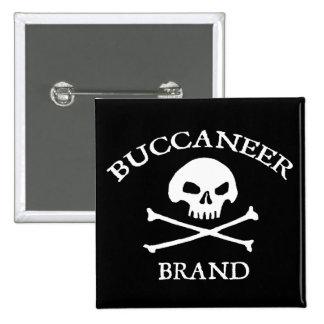 Buccaneer Brand Button