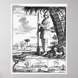Buccaneer in the West Indies, 1686 Poster