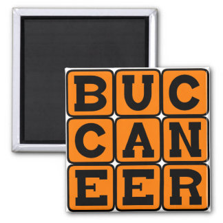 Buccaneer, Sea Pirate Magnet